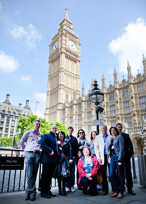 NLB visit the Houses of Parliament, London